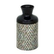 Cole & Grey Lacquer Mop Floor Vase; 19'' H x 10'' W x 10'' D