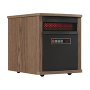 Duraflame 5,200 BTU Portable Electric Infrared Cabinet Heater; Dark Oak