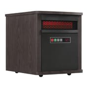 Duraflame 5,200 BTU Portable Electric Infrared Cabinet Heater; Espresso