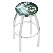 Holland Bar Stool NCAA 30'' Swivel Bar Stool w/ Cushion; Colorado State Rams