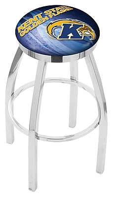 Holland Bar Stool NCAA 25'' Swivel Bar Stool w/ Cushion; Kent State Golden Flashes WYF078279778110