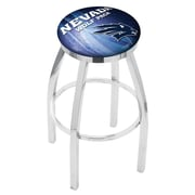 Holland Bar Stool NCAA 30'' Swivel Bar Stool w/ Cushion; Nevada Wolf Pack
