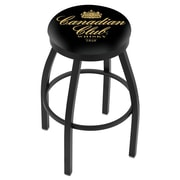 Holland Bar Stool 36'' Swivel Bar Stool; Black