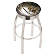 Holland Bar Stool NCAA 30'' Swivel Bar Stool w/ Cushion; Wake Forest Demon Deacons