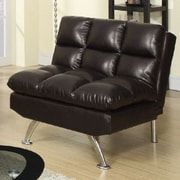 A&J Homes Studio Montecito Adjustable Convertible Chair; Espresso