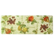 Bacova Guild Rustic Fruit II Memory Foam Kitchen Mat; 1'8'' x 4'7''