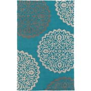 Artistic Weavers Venus Brooklyn Hand Tufted Teal Area Rug; 9' x 13'