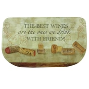 Bacova Guild ''Wine w/ Friends'' Memory Foam Kitchen Mat