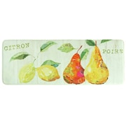 Bacova Guild Citron et Poire Memory Foam Kitchen Mat