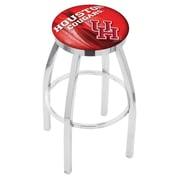 Holland Bar Stool NCAA 30'' Swivel Bar Stool w/ Cushion; Houston Cougars