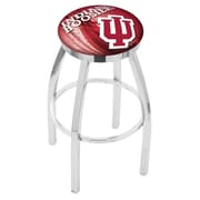 Holland Bar Stool NCAA 30'' Swivel Bar Stool w/ Cushion; Indiana Hoosiers