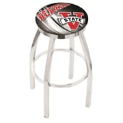 Holland Bar Stool NCAA 30'' Swivel Bar Stool w/ Cushion; Valdosta State Blazers