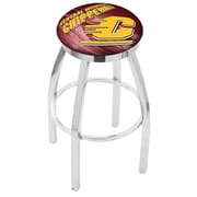 Holland Bar Stool NCAA 30'' Swivel Bar Stool w/ Cushion; Central Michigan Chippewas
