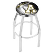 Holland Bar Stool NCAA 30'' Swivel Bar Stool w/ Cushion; Appalachian State Mountaineers