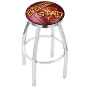 Holland Bar Stool NCAA 30'' Swivel Bar Stool w/ Cushion; Iowa State Cyclones