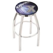 Holland Bar Stool NCAA 30'' Swivel Bar Stool w/ Cushion; Xavier Musketeers