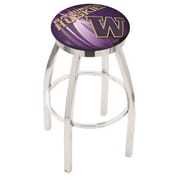 Holland Bar Stool NCAA 30'' Swivel Bar Stool w/ Cushion; Washington Huskies