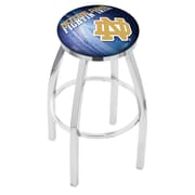 Holland Bar Stool NCAA 30'' Swivel Bar Stool w/ Cushion; Notre Dame Fighting Irish (ND)