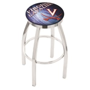 Holland Bar Stool NCAA 30'' Swivel Bar Stool w/ Cushion; Virginia Cavaliers