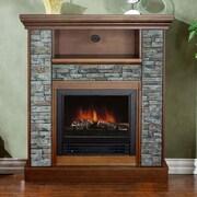 Stonegate Ashville Electric Fireplace; Old Oak