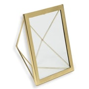 VivaTerra Geo Angle Picture Frame; Gold