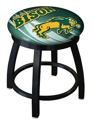 Holland Bar Stool NCAA Swivel Bar Stool; North Dakota State Bison - Green WYF078279775221