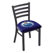 Holland Bar Stool NHL Stationary Side Chair; Edmonton Oilers