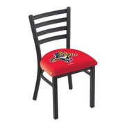 Holland Bar Stool NHL Stationary Side Chair; Florida Panthers