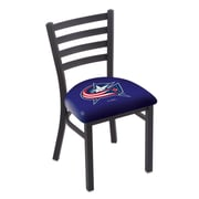 Holland Bar Stool NHL Stationary Side Chair; Columbus Blue Jackets