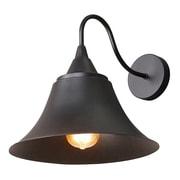 LNCHome Bell Gooseneck 1 Light Wall Sconce