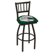 Holland Bar Stool NHL Swivel Bar Stool w/ Cushion; Minnesota Wild