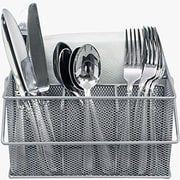 Sorbus Utensil Holder; Silver
