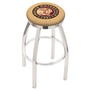 Holland Bar Stool 36'' Swivel Bar Stool; Chrome