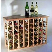 Wineracks.com 48 Bottle Floor Wine Rack; Oak