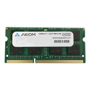 Axiom 0A65723-AX 4GB (1 x 4GB) DDR3 SDRAM SODIMM DDR3L-1600/PC3L-12800 Laptop Memory Module