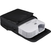 """Casio Soft Nylon Carrying Case for LampFree Core XJ-V10X/XJ-V100W Projectors, 12.4""""H x 12.4""""W x 4.5""""D, Black (YB-2)"""
