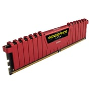 Corsair® CMK16GX4M2A2400C16R Vengeance LPX 16GB (2 x 8GB) DDR4 SDRAM UDIMM DDR4-2400/PC4-19200 Gaming Memory Module