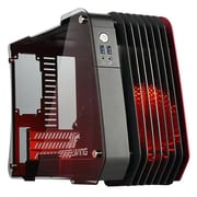 Enermax Steelwing Mini Tower Computer Case, Red (ECB2010)