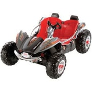 Fisher-Price® Power Wheels® Dune Racer All-Terrain Vehicle, Lava Red and Black, 3+ Years (BCV59)