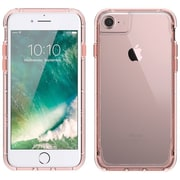 Griffin GB42313 TPU/Polycarbonate Survivor Clear Case for iPhone 7, Rose Gold