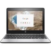 "HP® Chromebook 11 G5 11.6"" Chromebook, Touchscreen LCD, Intel Celeron N3050 1.6 GHz, 16GB, 4GB, Chrome, Black"