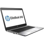 "HP® EliteBook 840 G3 14"" Notebook PC, LCD, Intel Core i7-6600U 2.6 GHz, 256GB, 8GB, Win 7 Professional, Silver/Black"