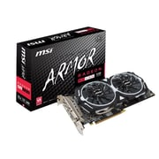 msi AMD Radeon RX 480 ARMOR 8G OC GDDR5 PCI Express x16 3.0 8GB Graphic Card
