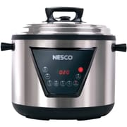 Nesco® 11 qt Multi Function Pressure Cooker, Silver/Black (PC11-25)