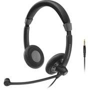 Sennheiser Culture Plus SC 75 Over-the-Head Stereo Headset, Black
