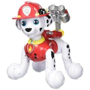 Spin Master™ Paw Patrol Zoomer Interactive Marshall Toy with Tricks, White/Black/Red (6028662)