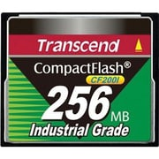 Transcend® CF200I Industrial Temp 256MB CompactFlash Memory Card