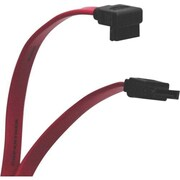 "Tripp Lite SATA Male/Male Right Angle Signal Data Transfer Cable, 24"", Red (P942-24I)"