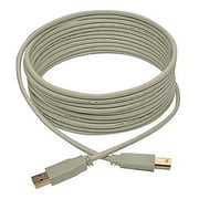 Tripp Lite U022 15' USB 2.0 Type-A to Type-B Male/Male Data Transfer Cable, Beige