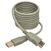 Tripp Lite U024 6' Hi-Speed USB 2.0 Type-A Male/Female Extension Cable, Beige